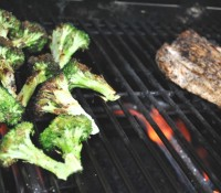 Betsy Crocker: Grilled Broccoli