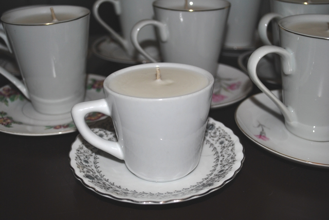Betsy Crocker: Vintage Teacup Candles