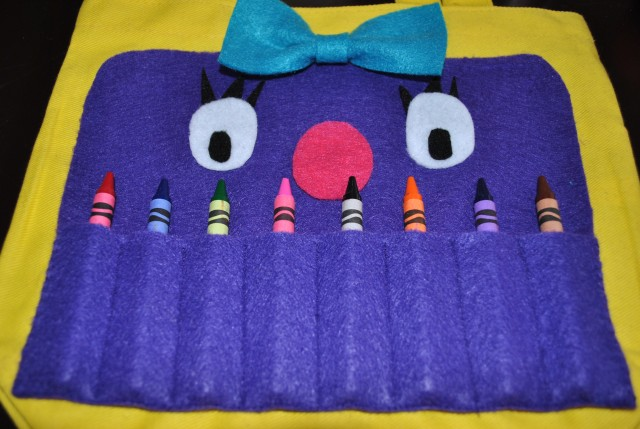 Felt Monster bag